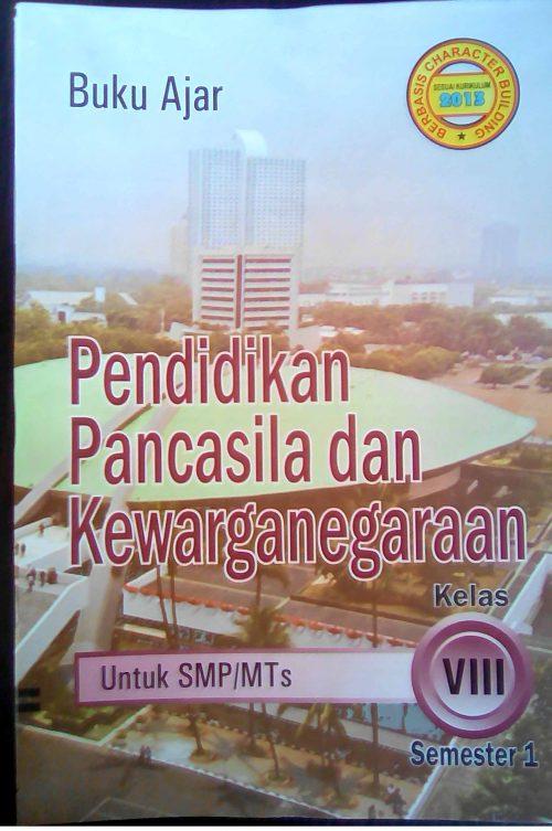 Buku LKS PPKn untuk SMP/MTs kelas 8 smt 1