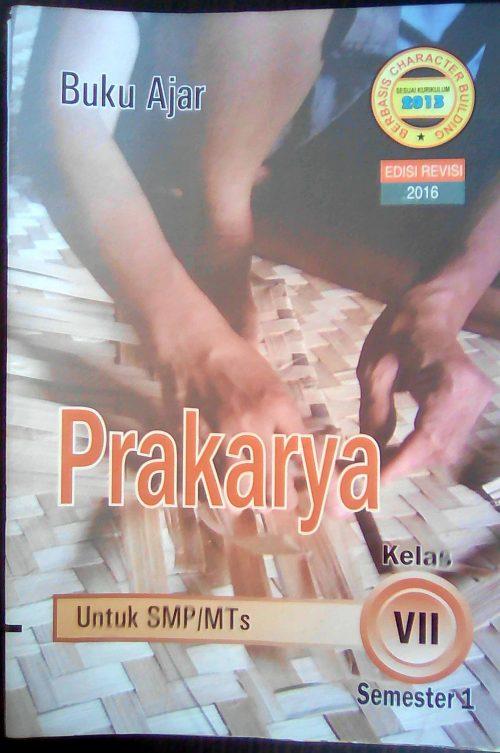 LKS Prakarya SMP/MTs kelas 7 smt 1